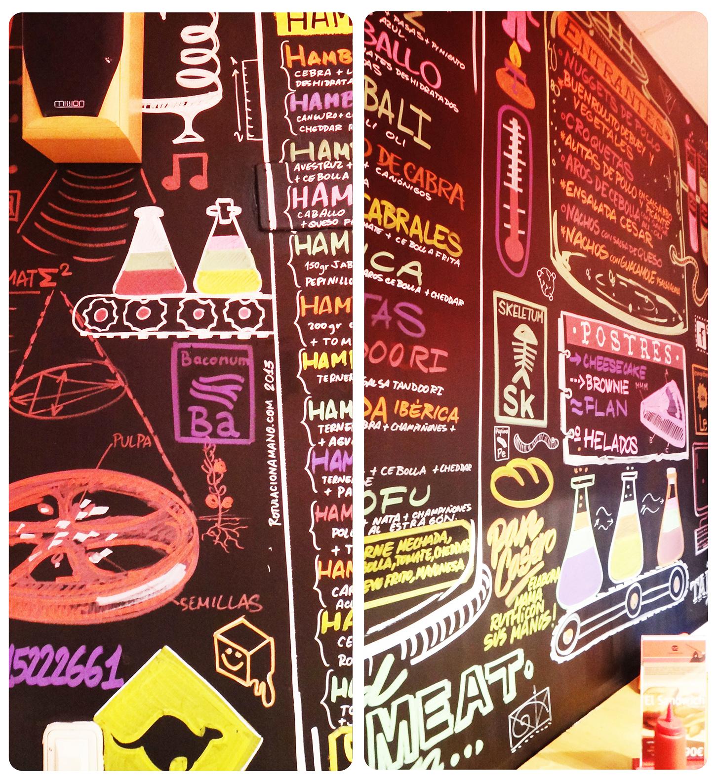 the burger lab malasaña pizarra 2