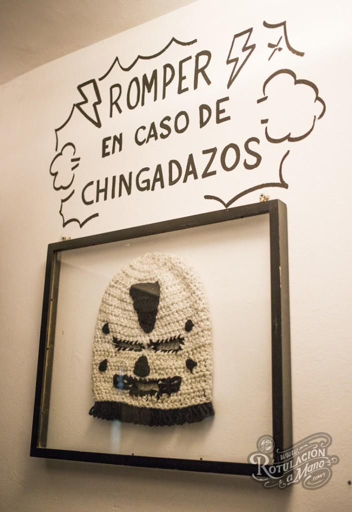 Maria Bonita Taco Bar Lavapies rotulación a mano lettering mexico murales (12)
