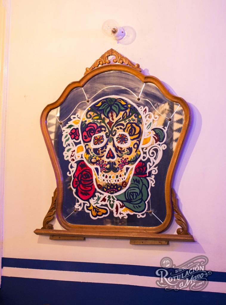 Maria Bonita Taco Bar Lavapies rotulación a mano lettering mexico murales (9)