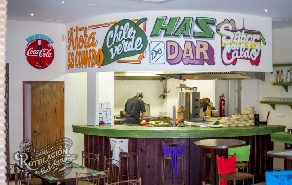 restaurante mexicano colores de mexico murales, decoracion rotulacion (5)