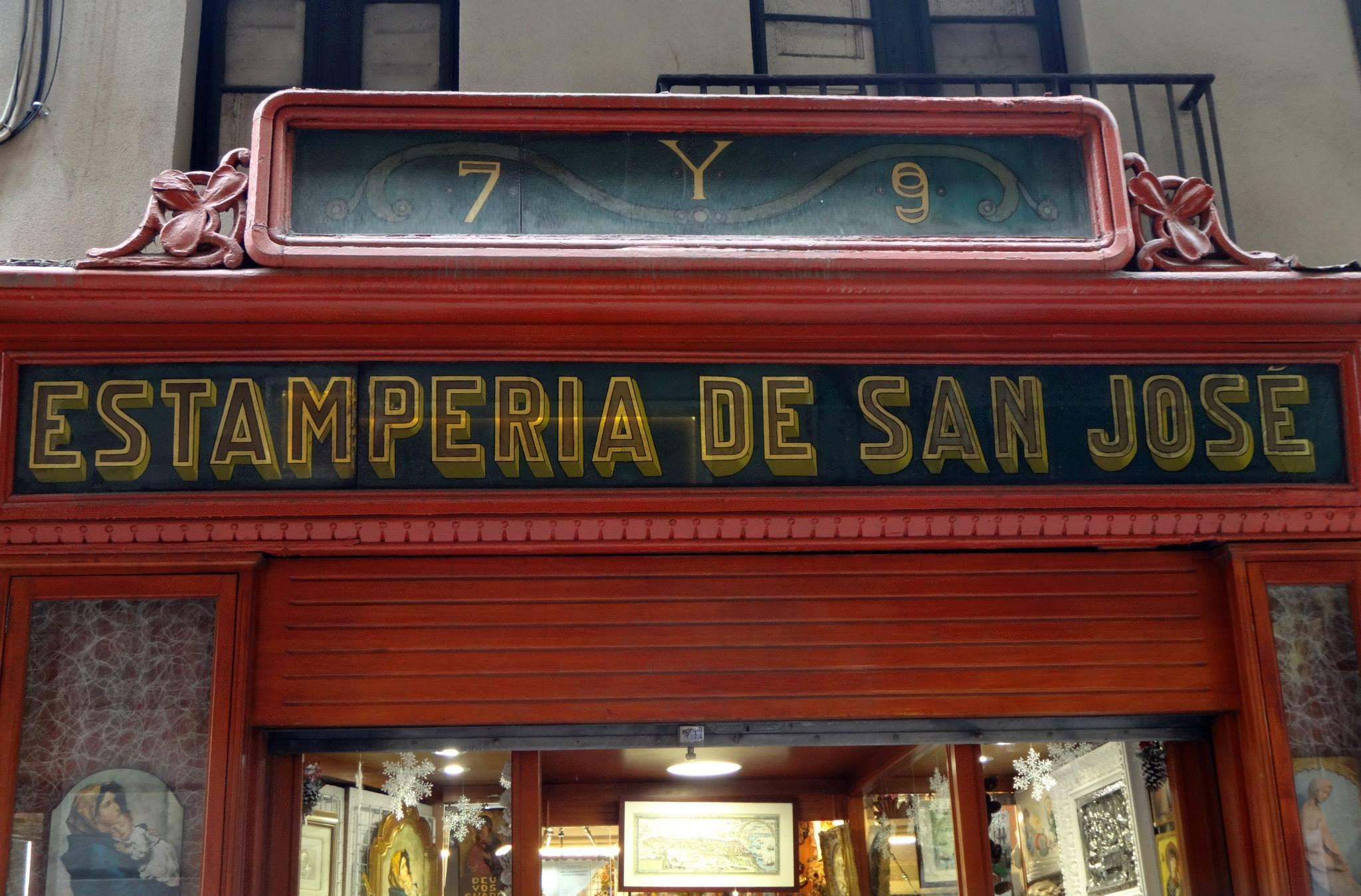 Estampería de San José, autor desconocido #Barcelona @VisitBCN_ES #barcelona