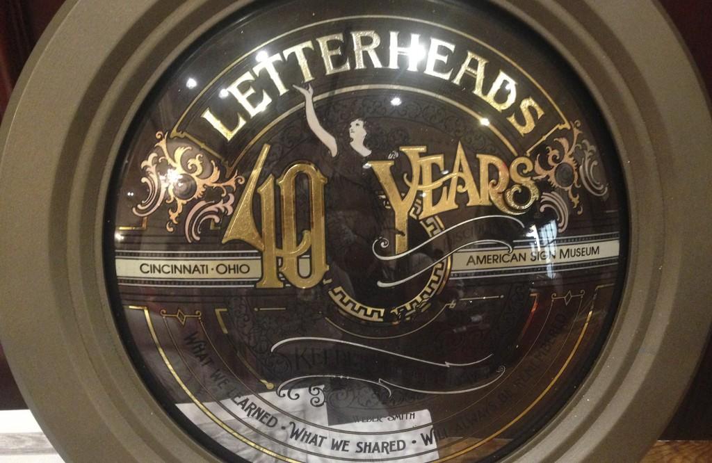 letterheads 40 pieza cristal pintado rotulacion a mano 5