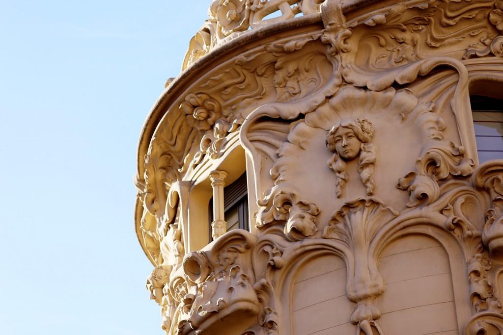 """Palacio Longoria, Modernismo Español, o """"Art Nouveau"""" en Francia"""
