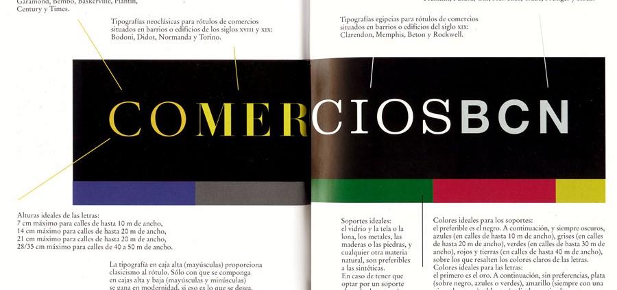 Satue, El paisaje comercial de la ciudad. Letras, formas y colores en la rotulación de comercios de Barcelona