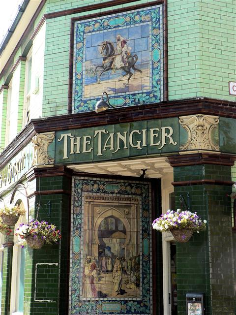 The Tangier, Portsmouth 1912 Carter Tiles