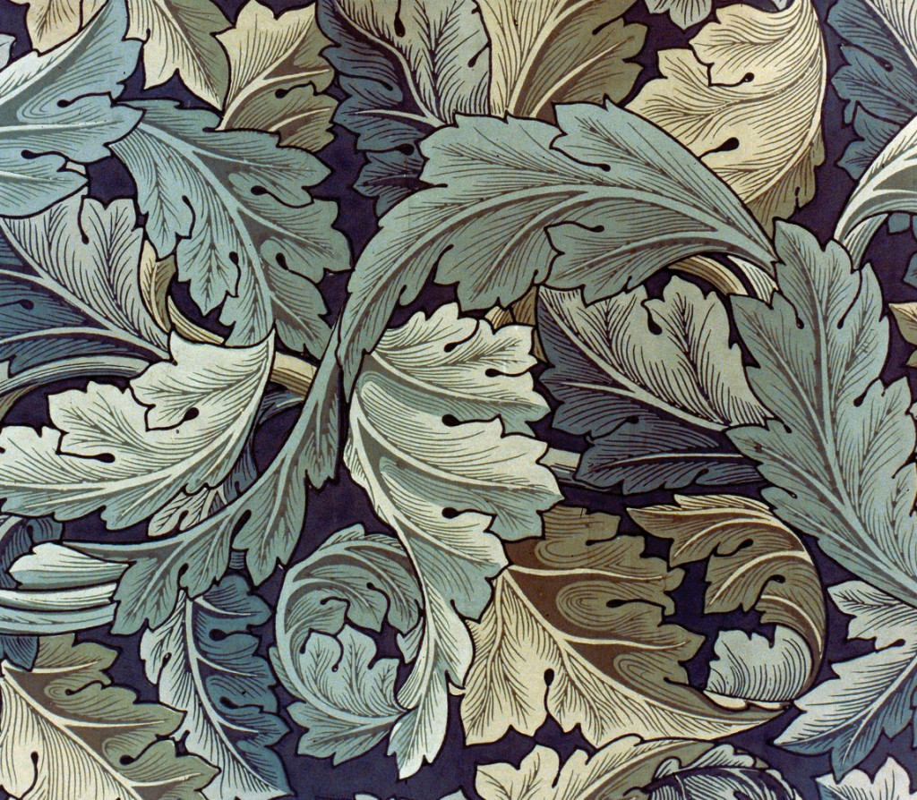 MORRIS: WALLPAPER, 1875. 